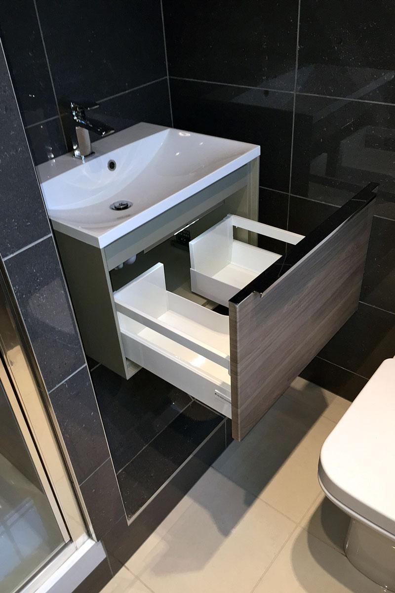 Bathroom Under-sink Drawer