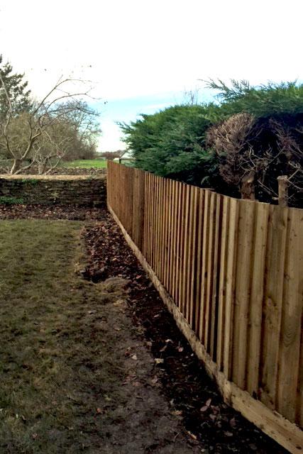 Banbury wooden fencing
